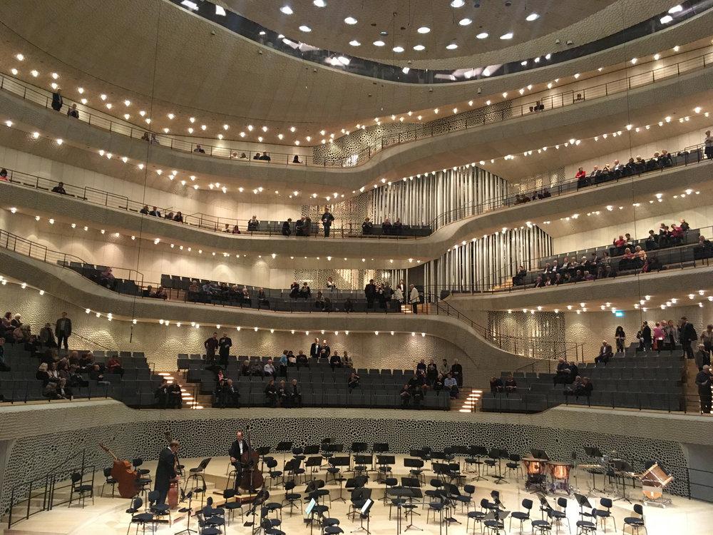 Elbphilharmonie Hamburg Konzertsaal