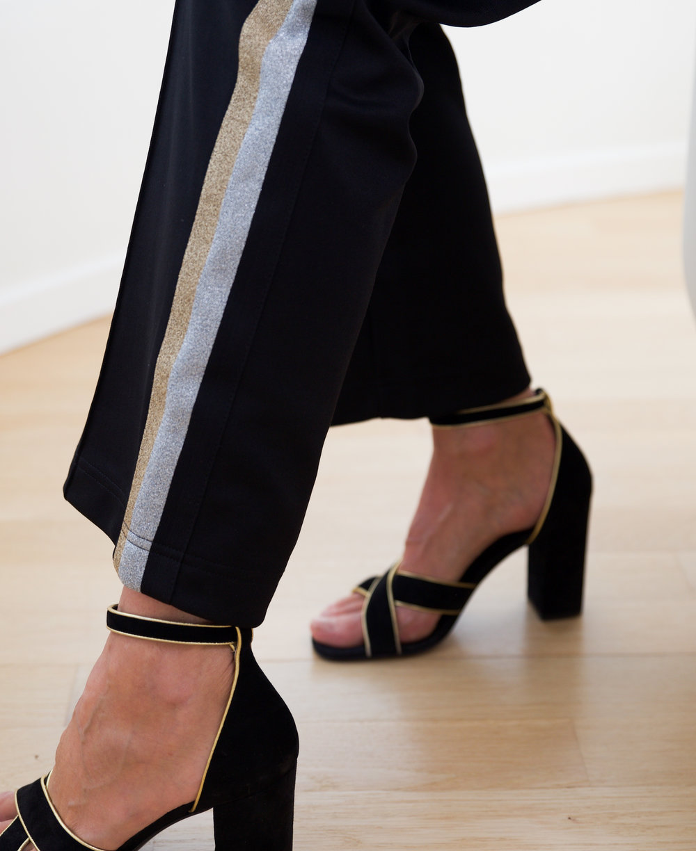 Liv Bergen Styling Look Jogginghose Mode für Frauen über 50 BeFifty