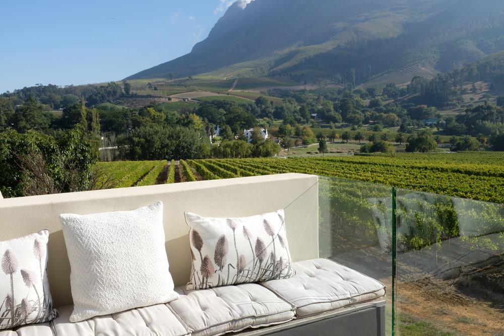 Beate Finken BeFifty Reiseblog Travel Blog für Frauen über 50 Stellenbosch Südafrika Wein Gebiet Hoteltipp