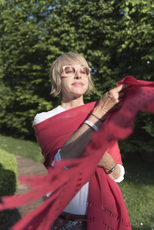BeFifty Blog für Frauen über 50 Schal Tuch nachhaltige Mode