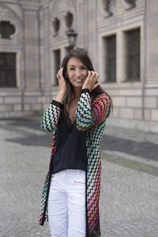BeFifty Blog für Frauen über 50 Jeans DAWN Nachhaltige Mode Missoni Jacke