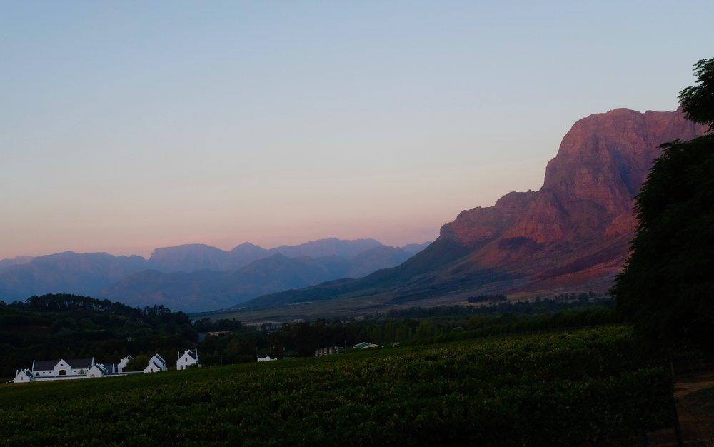 Beate Finken BeFifty Reiseblog Travel Blog für Frauen über 50 Stellenbosch Südafrika Wein Gebiet Hoteltipp Banhoek Lounge Stellenbosch