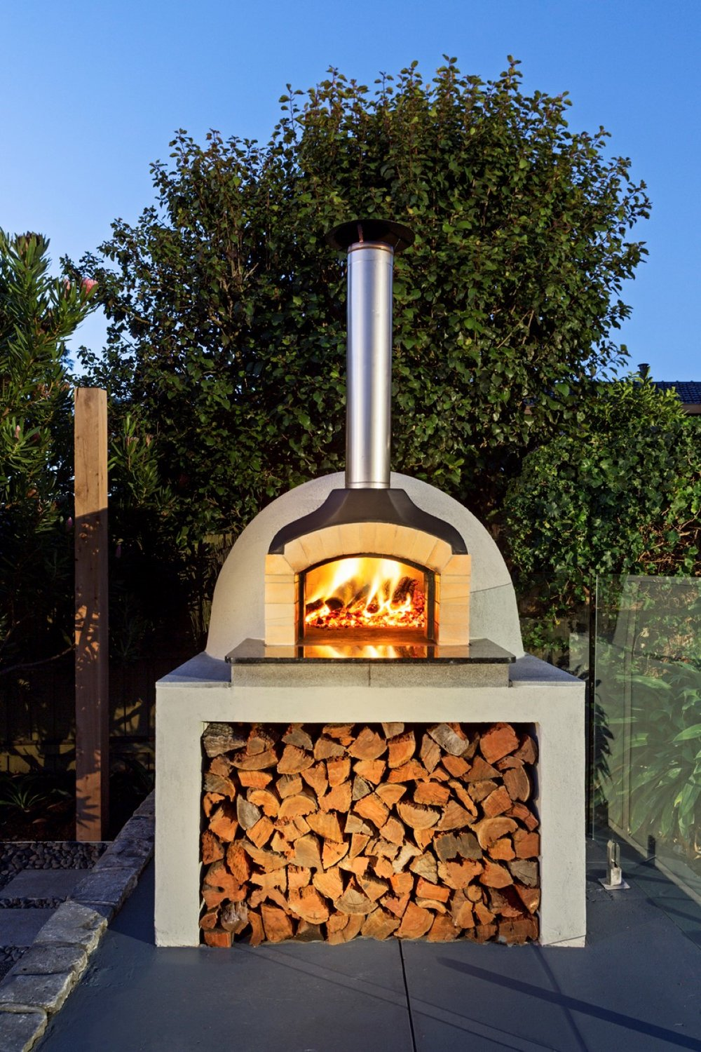 Alistair's D105 Brick Oven
