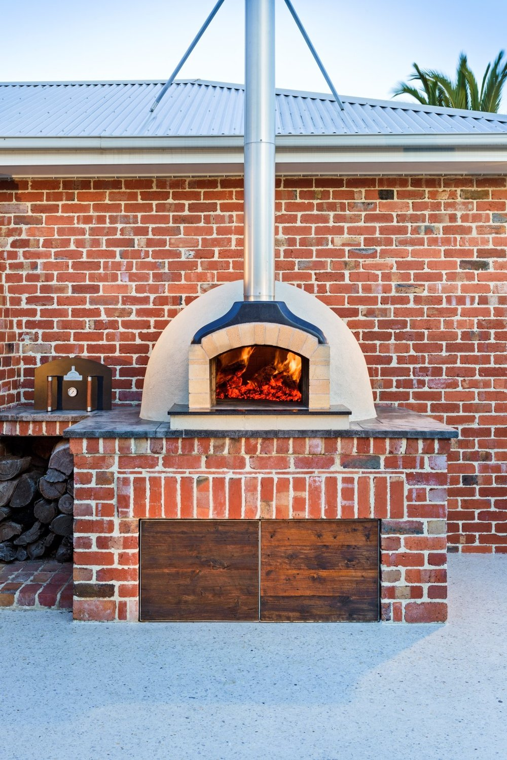 D105 Wood Fired Oven - Alan B - 1