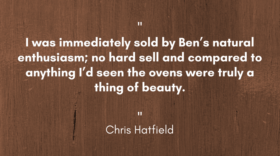 Chris Hatfield Pizza Oven Testimonial - Landscape 1 (1).png
