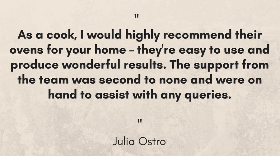 Julia Ostro Pizza Oven Testimonial - Landscape 1.png