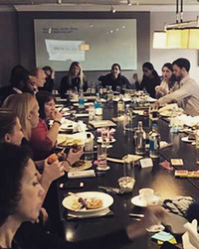 Huge start to 2018 with our company Kick Off. Goals for the year ☑️, what are our values? ☑️ how can we provide a better service to our customers? ☑️. Starting the year as we mean to go on - communication, collaboration and striving to improve. #b2bmarketing #teamwork #workculture