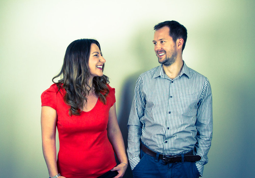 Jen and Craig - Founders of Work Happy