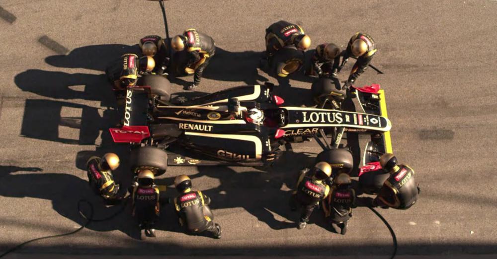 Rexona - Lotus F1