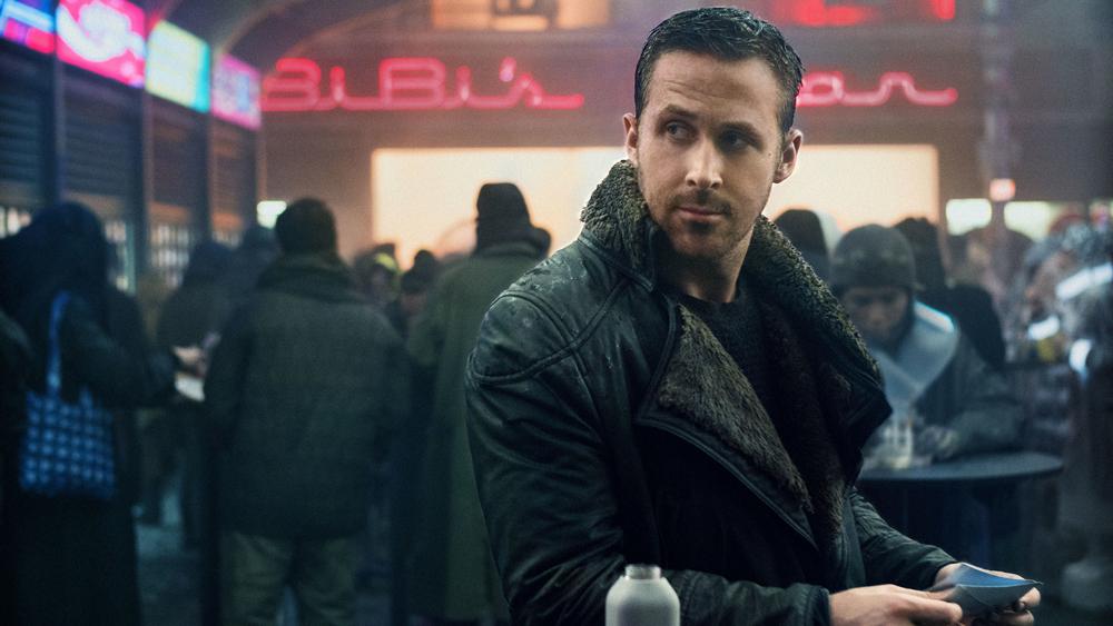 actor ryan gosling as 'k' in blade runner 2049