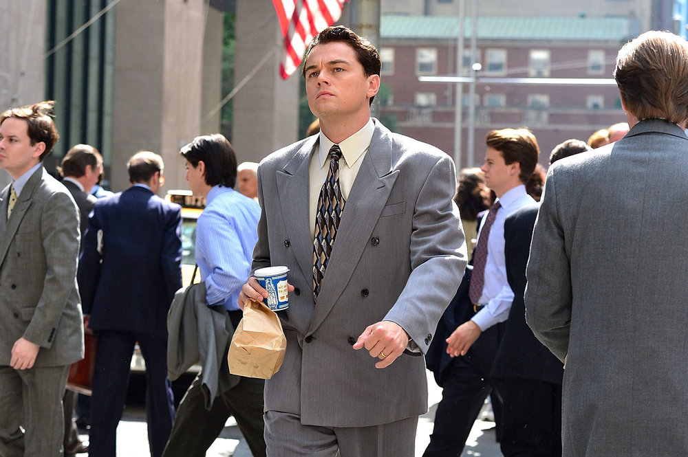 leonardo dicaprio starring as jordan belfort in 'the wolf of wall street'