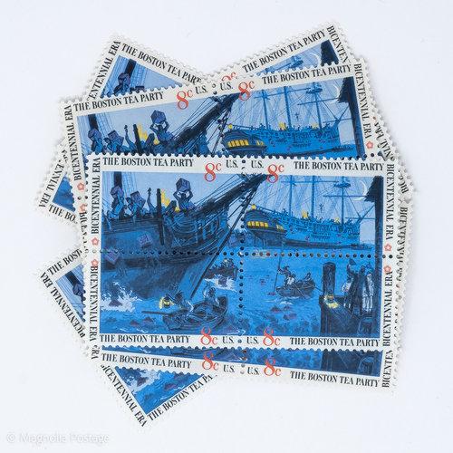 Boston Tea Party Stamps Magnolia Postage 383