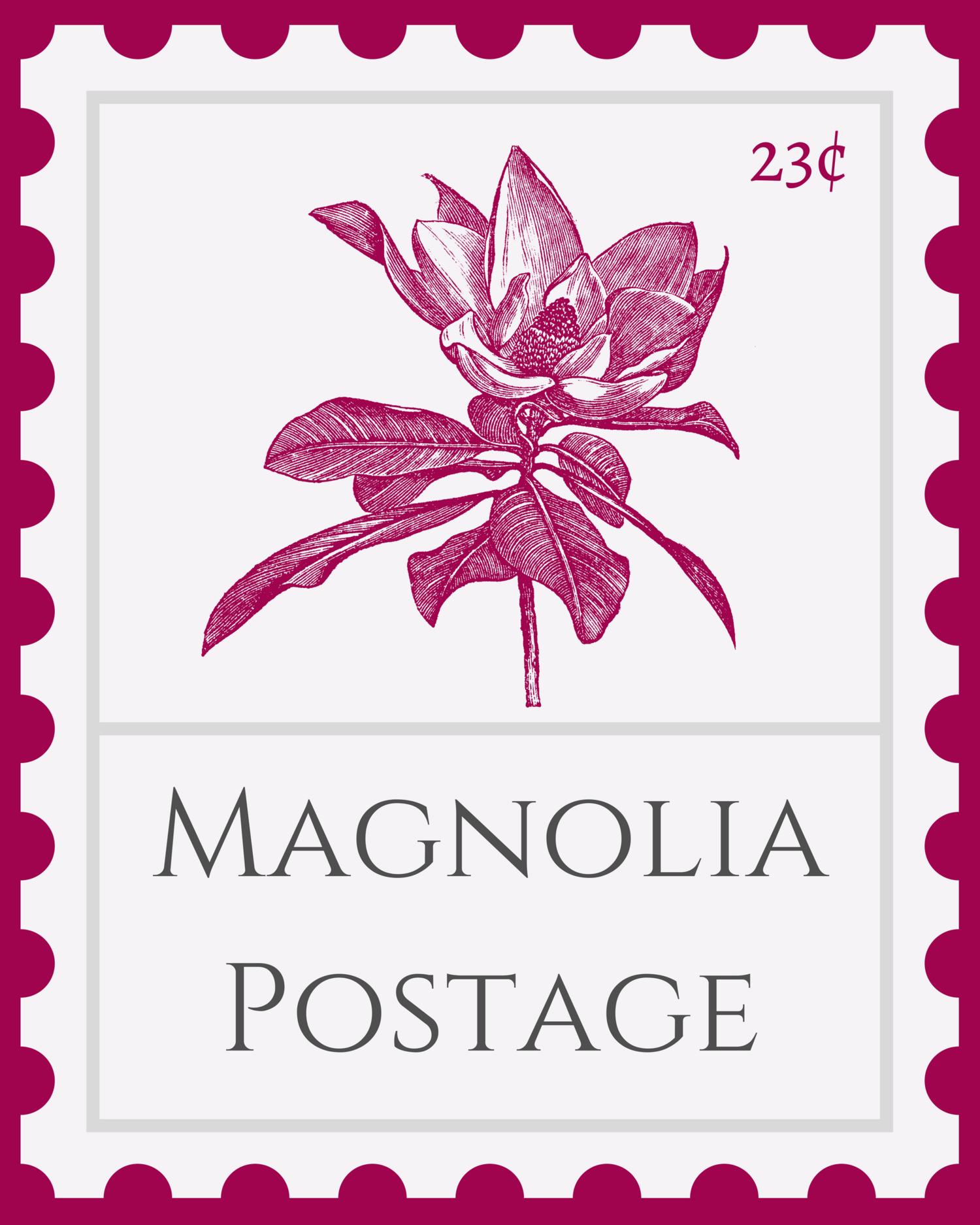 Magnolia Postage