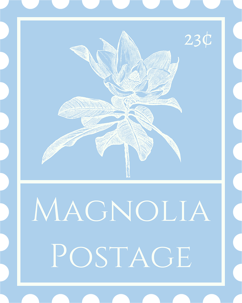 Magnolia Postage | Elevating correspondence with vintage US postage