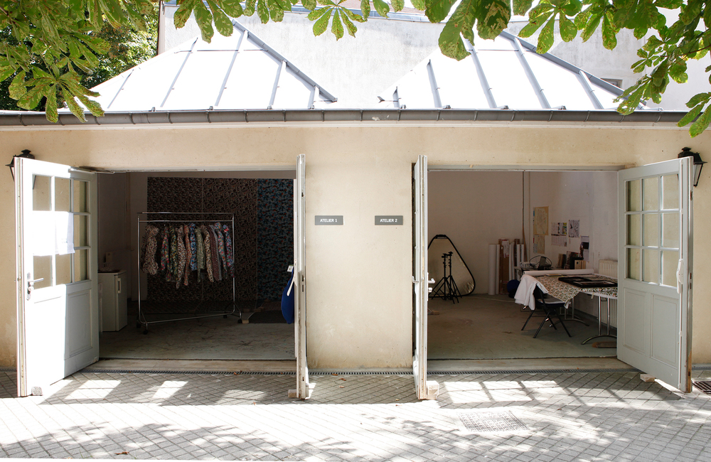 Artist In Residence Open Studio, 2014  Centre Culturel Irlandais, Paris