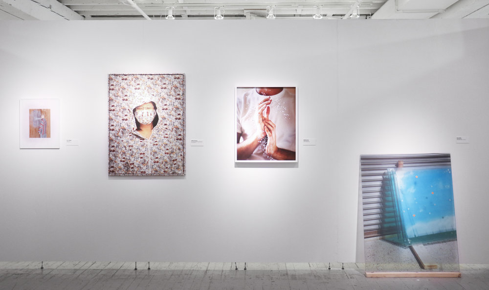 "Aperture,  'Photography Is Magic', 2016  Curated by Charlotte Cotton Aperture Foundation, New York   Street Flower  2014  Pushing the Outer Limits of Photography  ""Curated by  Charlotte Cotton , the New York exhibit ""Summer Open: Photography Is Magic"" features works by 50 who are reinventing the genre of photography and exploiting the medium to different creative ends. Consider the shattered, drifting pieces of rock in one photograph, or another eerie image by  Ailbhe Greaney , of a woman in floral-printed clothing who seems to melt into the wallpaper behind her""  New York Magazine https://www.thecut.com/2016/07/summer-open-photography-is-magic.html"