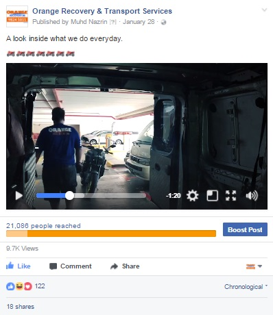 Facebook Video Ad In Singapore