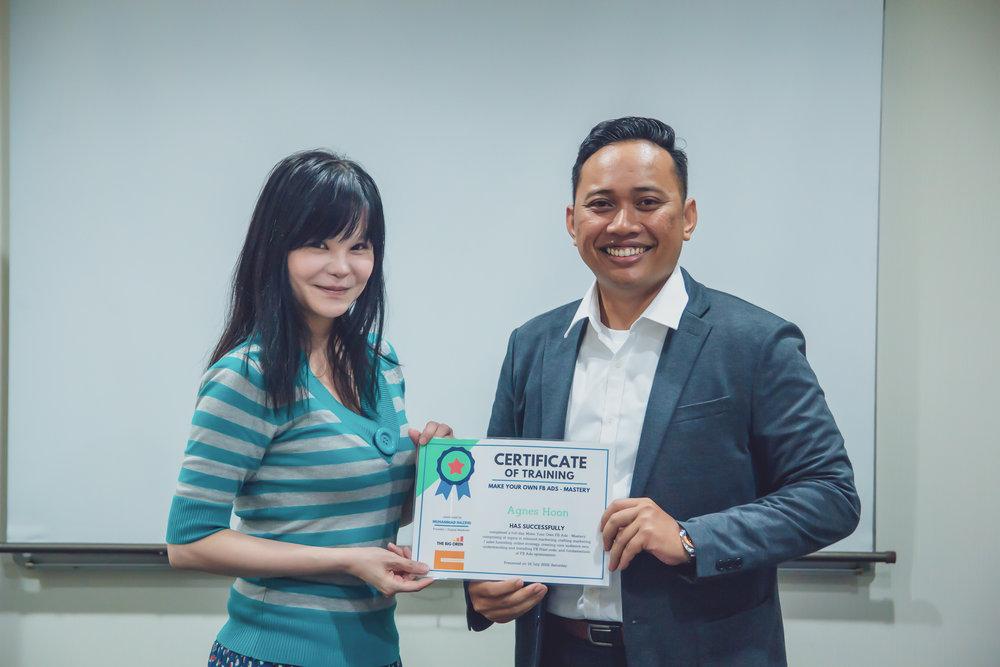 100th Participant Facebook advertising singapore