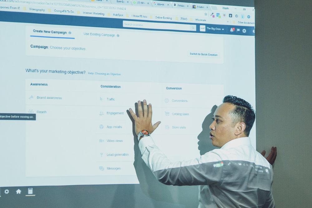 Best Facebook Ad Workshop In Singapore