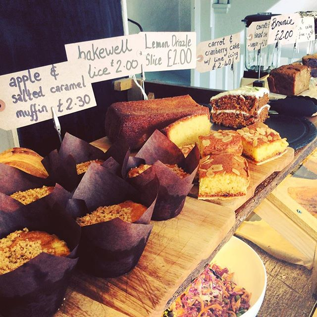So many new cakes! After 2pm get any cake and a coffee for £4 - light up that afternoon slump! #cake #homemade #sweettooth #organic #food #afternoon #somuchcake