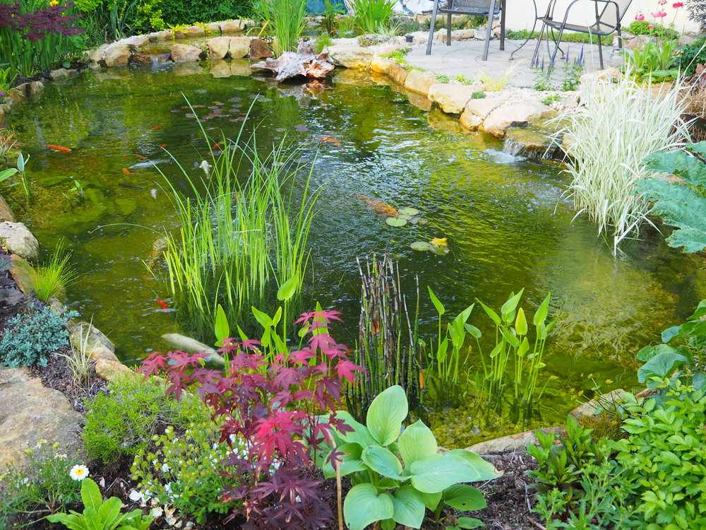 After… - A lighter stone has lifted this garden no end
