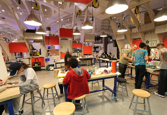 example of  a makerspace in Pittsburgh
