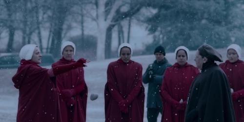 """""""I'm sorry, Aunt Lydia."""" (Image Credit:  IMDb )"""