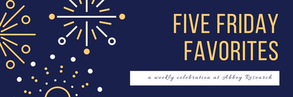 Five friday favorites.png