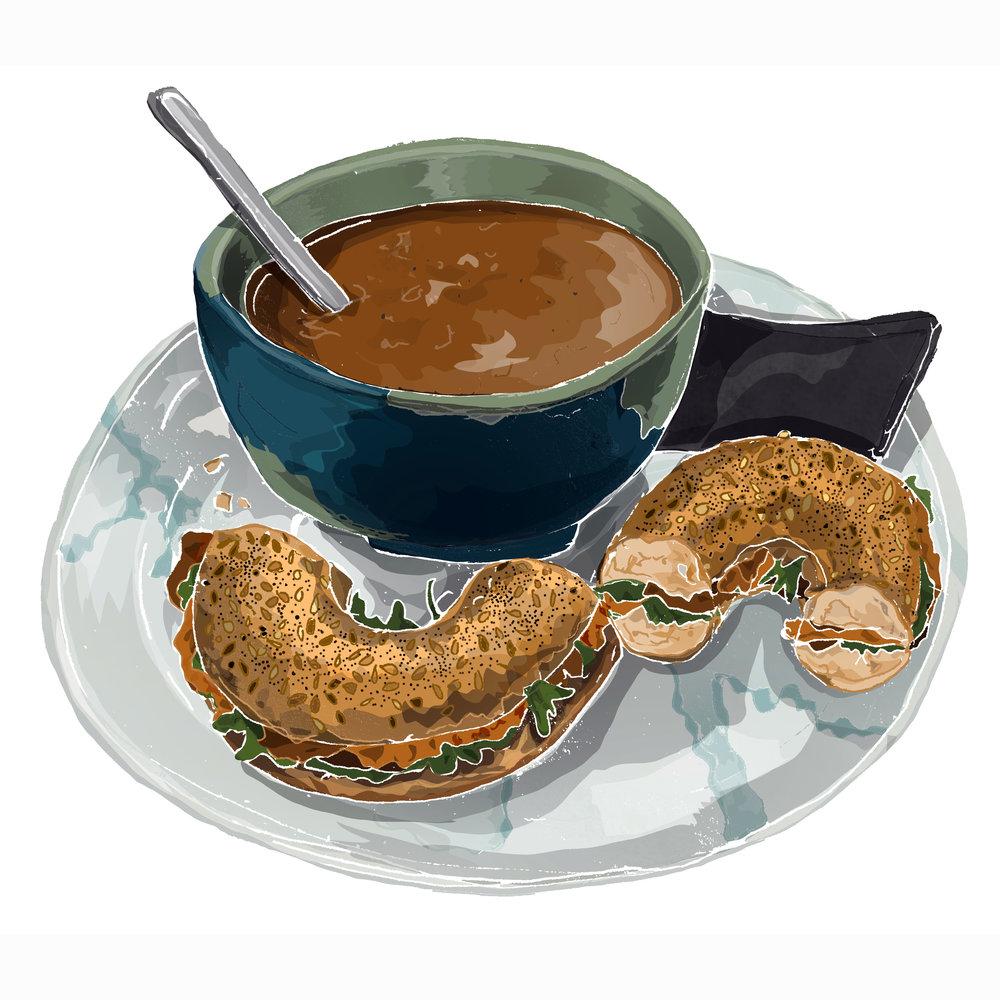 Lovelocks Coffee shop vegan lunch