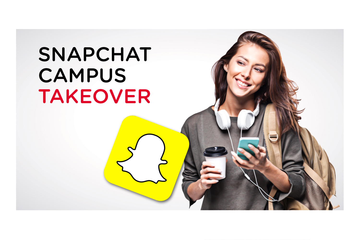 Snapchat takeover pages