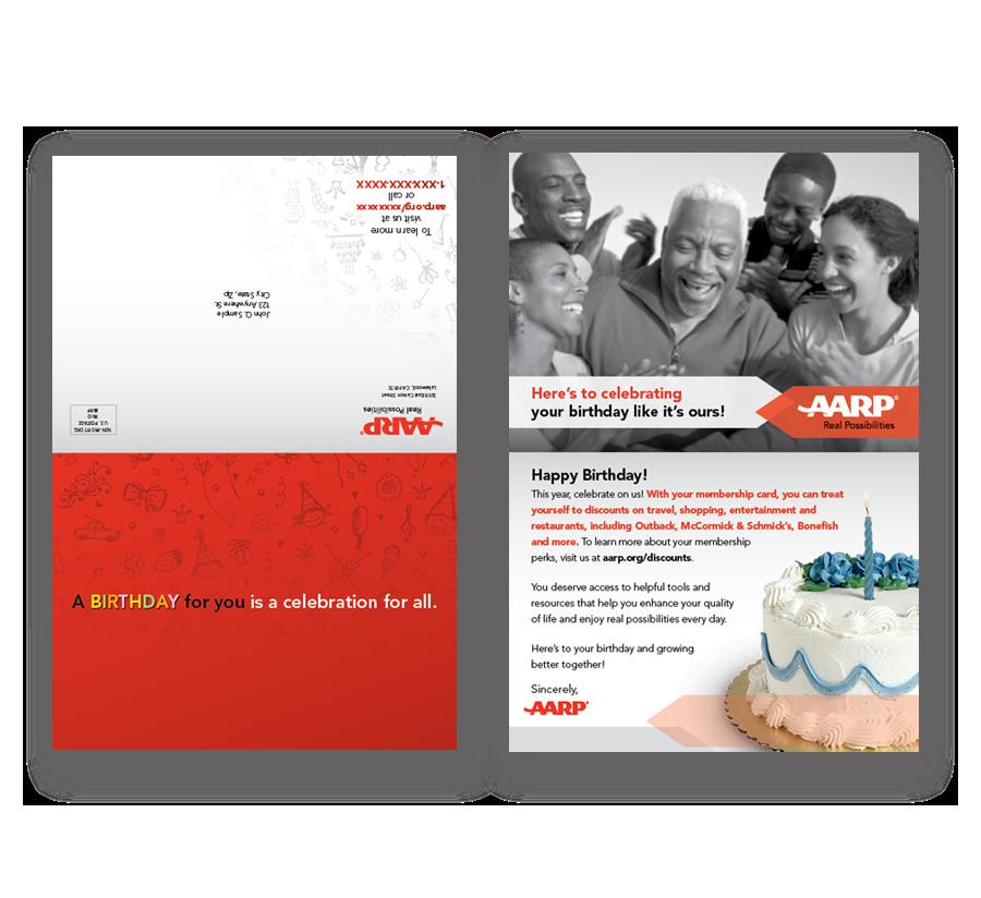 AARP Direct Mailer