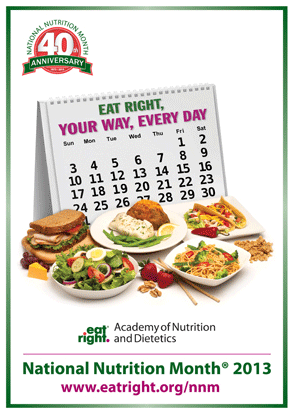 March Is Also National Nutrition Month!