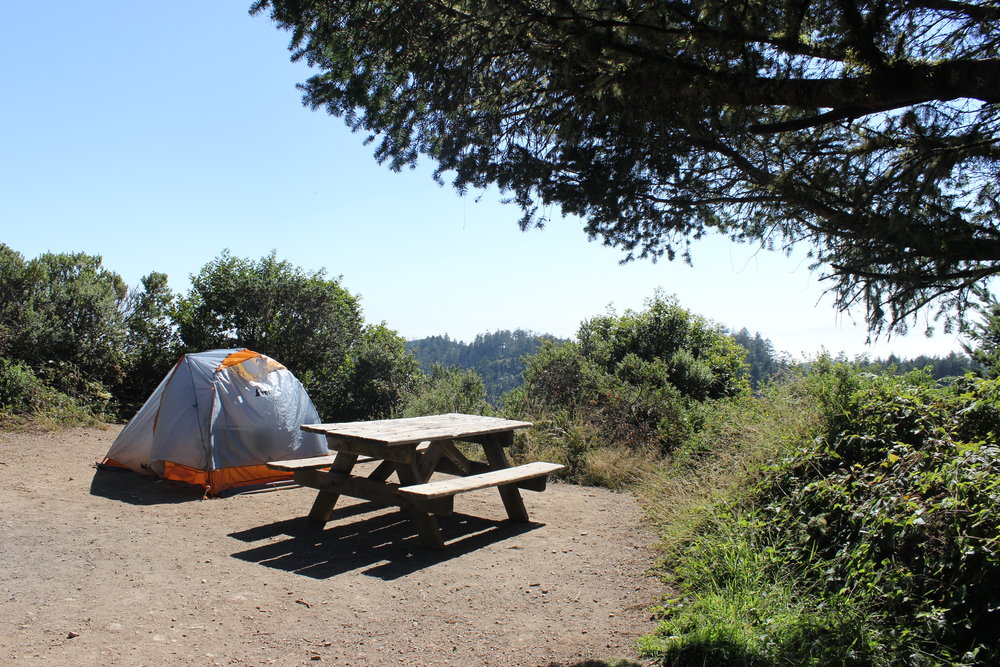 @Sky Camp, Point Reyes National Seashore