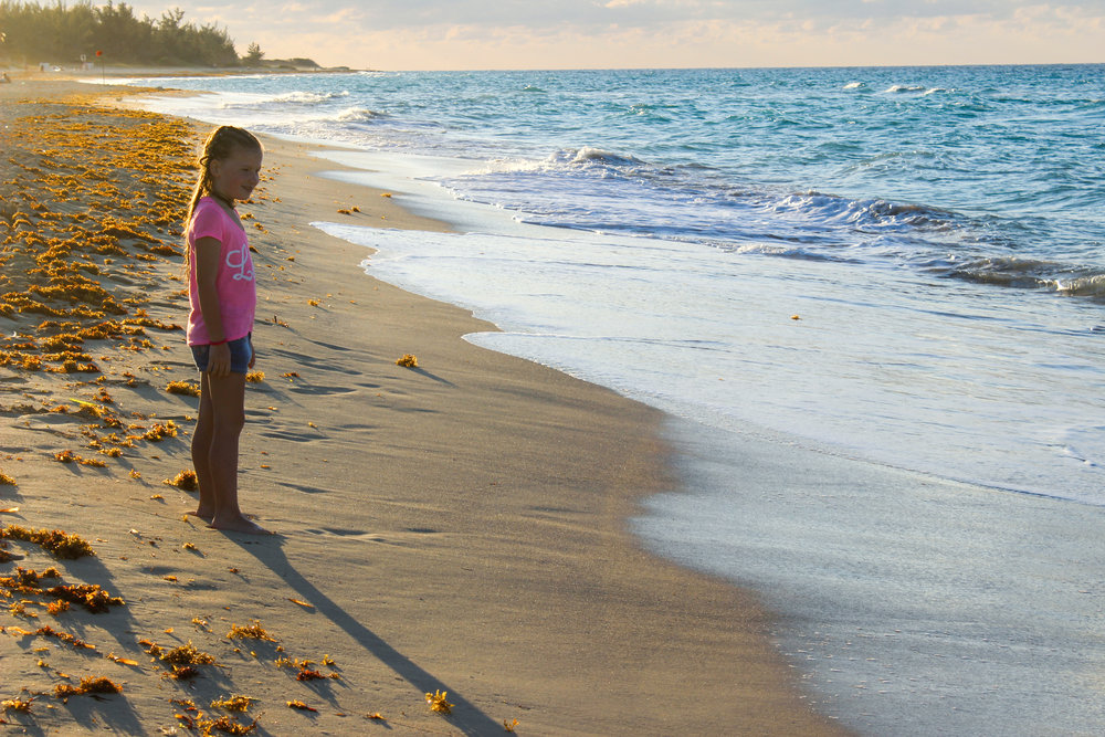 Hi, I am Sally Xia and I am a UX researcher.  - (That is NOT me but a picture I took of a little girl in Santa Maria Beach of Cuba. I liked how wonderfully surprised and intrigued she was interacting with the environment.)