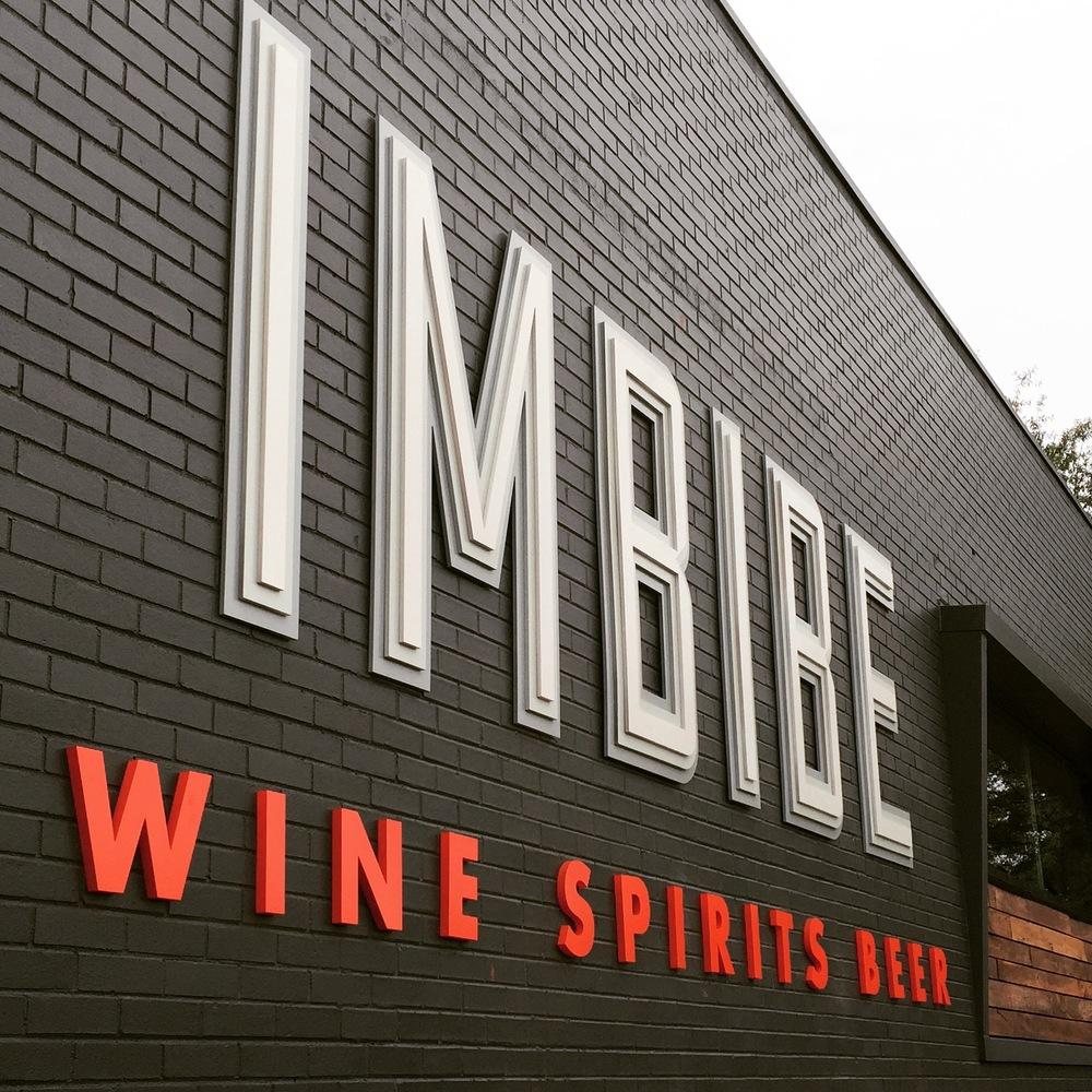 Imbibe Brand Signage