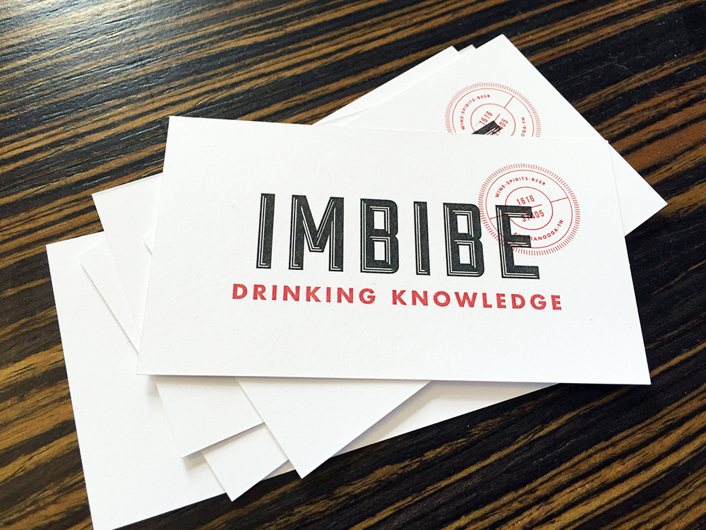 Imbibe Logo Design and Branding