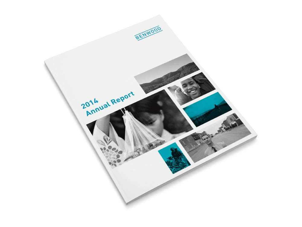 Graphic Design for Benwood Foundation Annual Report