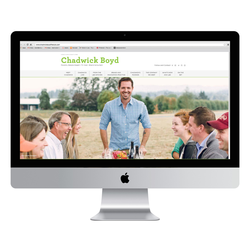 Chadwick Boyd Website Design