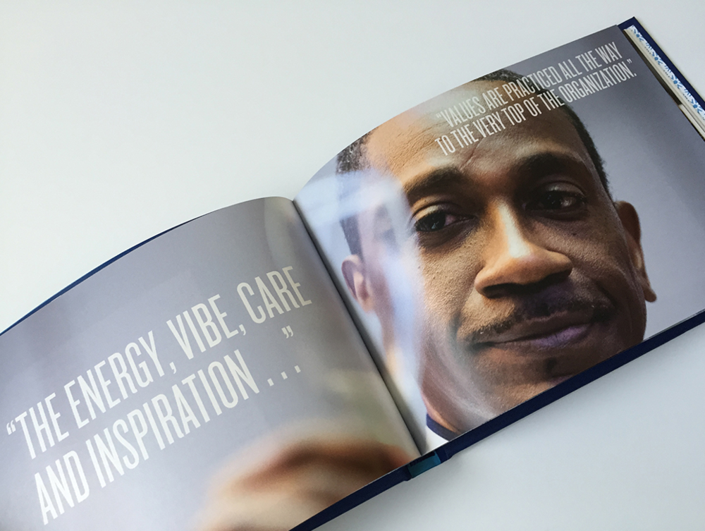 Vision Hospitality Brand application book