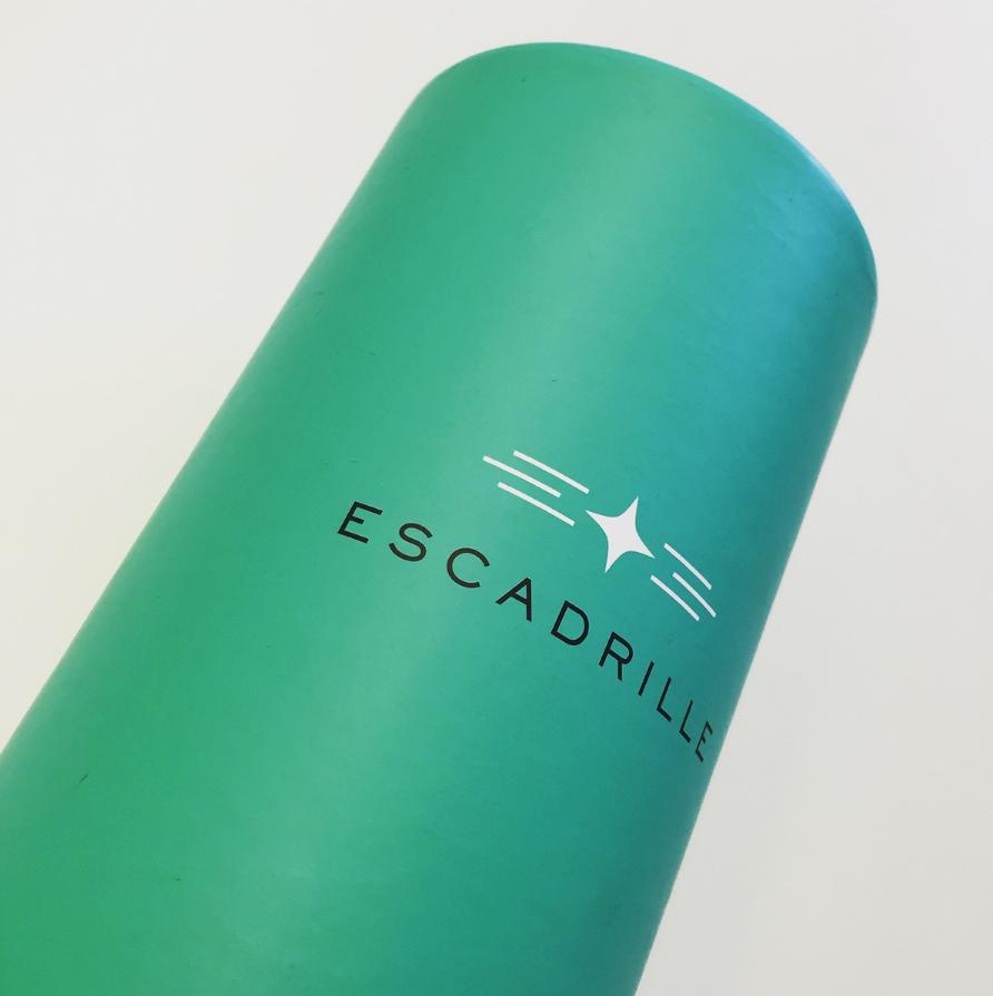 Escadrille brand logo implementation