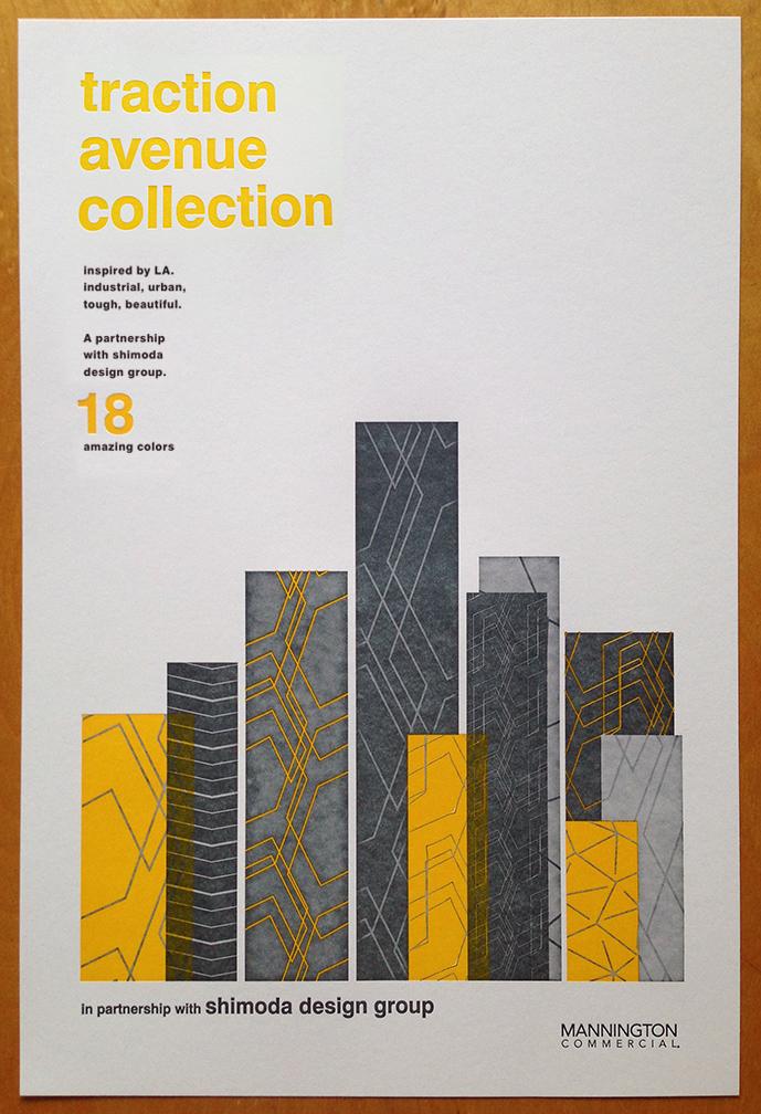 Letterpress cover design