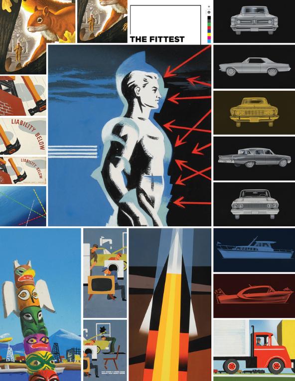 Image strategy digital printed posters Wonder Press
