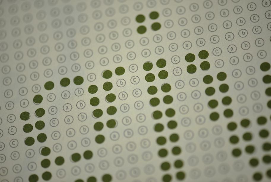 Printed detail typography design