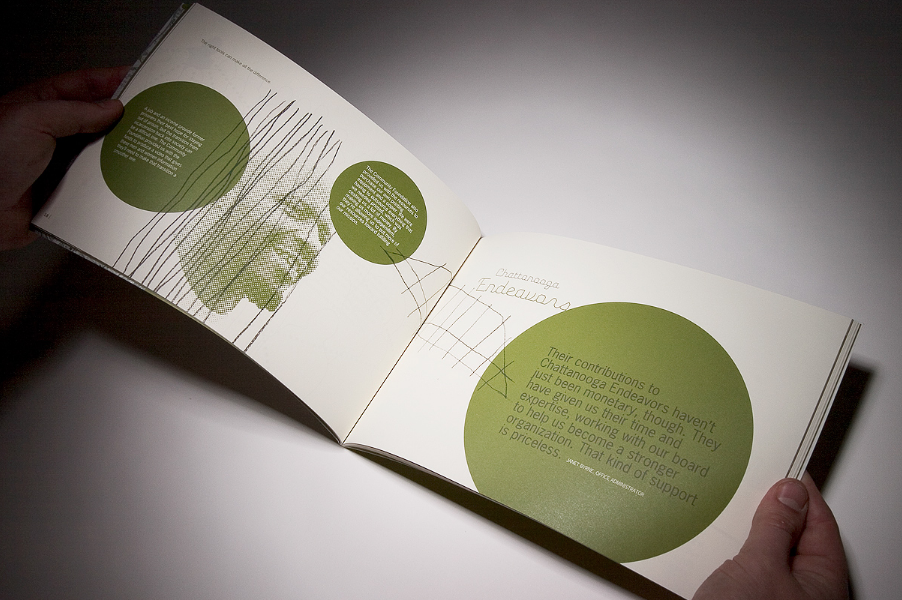 Image strategy layout designed graphic publication