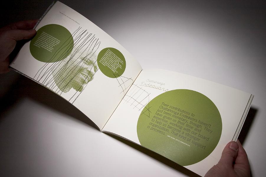 Image strategy layout designed graphic publication