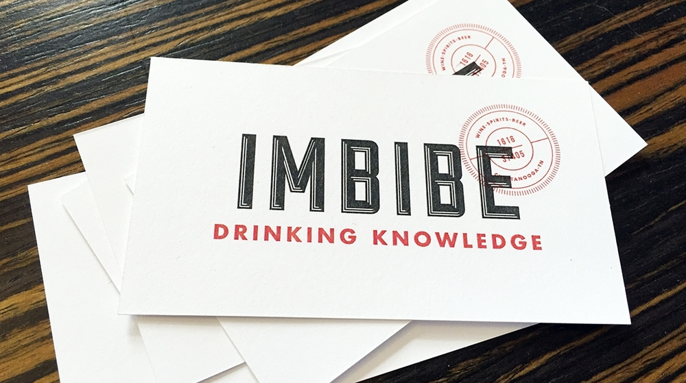 Branding and Identity Design for Imbibe