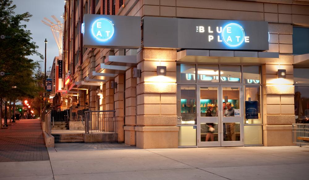 Blue Plate Sign logo