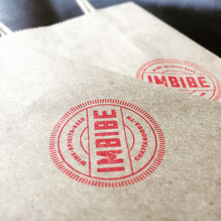 Imbibe Logo Stamp Bag