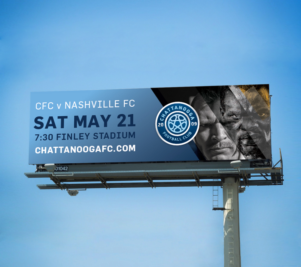 Chattanooga Football Club Branding