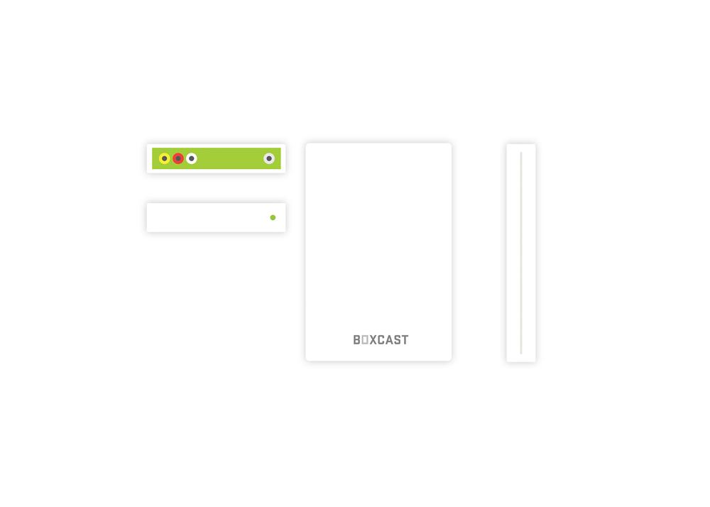 Boxcast - Graphic Design for Brand Identity